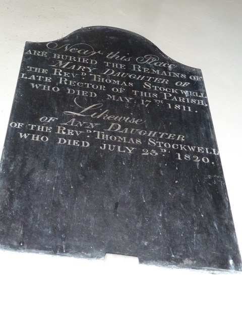 Dummer - All Saints Church: memorial (h)