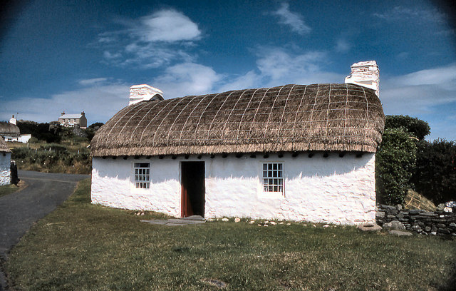 Harry Kelly's Cottage, Cregneash Folk Village