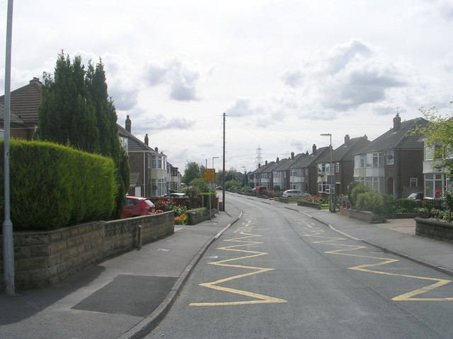 Kingsley Drive - viewed from Kingsley Avenue