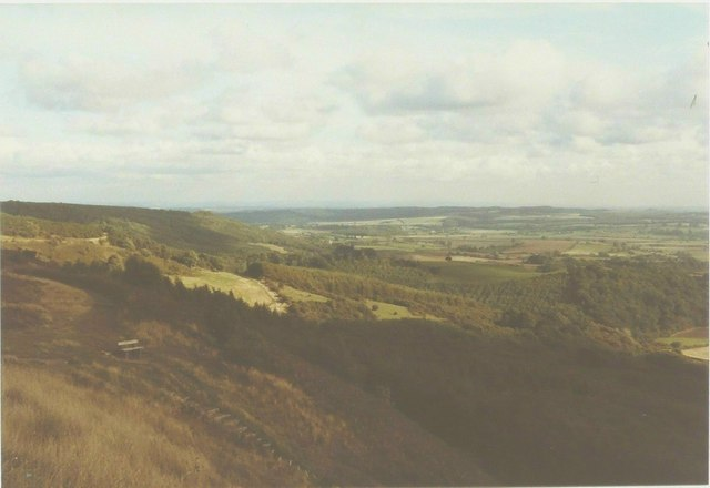 View from The White Horse in 1984