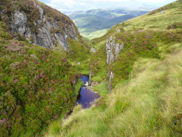Allt Crioch in Loch Ard Forest