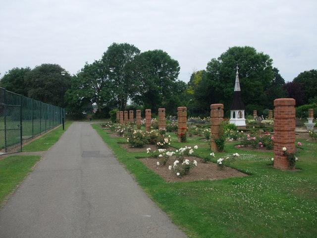 In Welland Park, Market Harborough