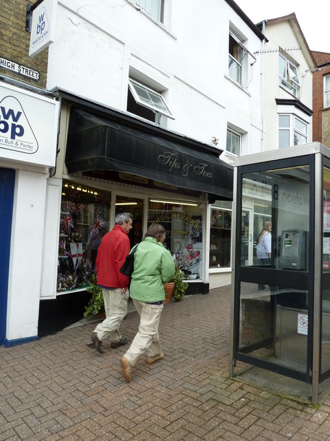 Ryde High Street- Tips and Toes