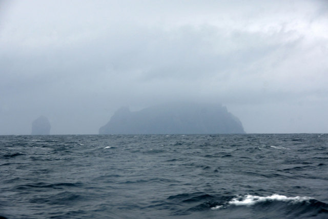 Boreray, St Kilda, from the south