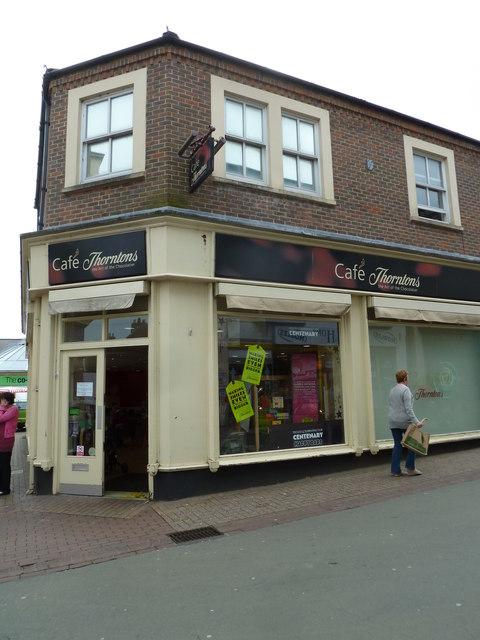 Ryde High Street- Café Thorntons