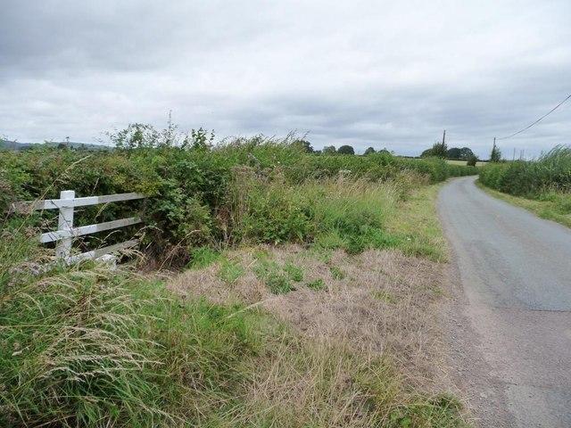 The lane to Middleton