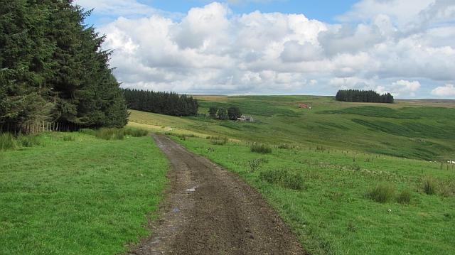 Road to Gairmuir