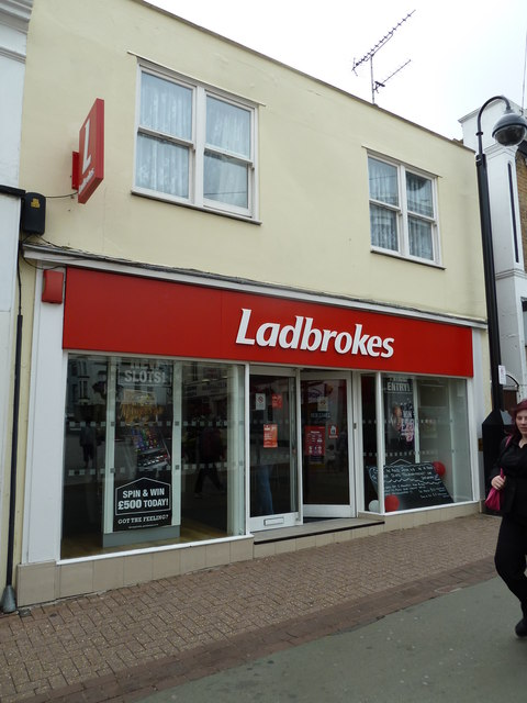 Ladbrokes in the High Street, Ryde