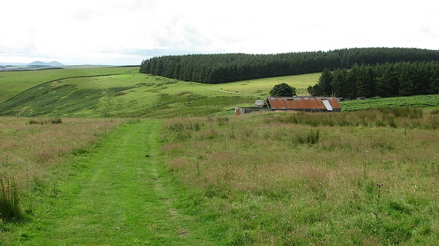 Track to Gairmuir