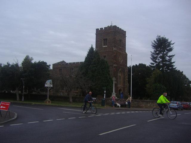 The church in Silsoe