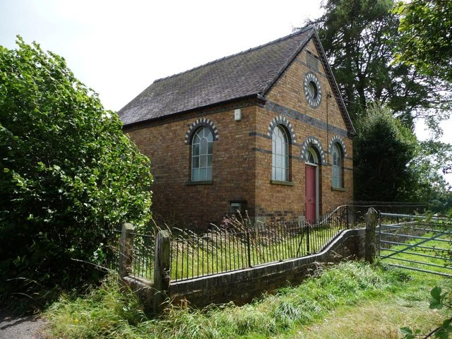 Angel Bank Primitive Methodist Chapel, Bitterley Lane