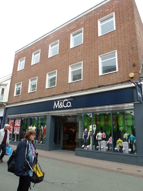 Ryde High Street- M & Co