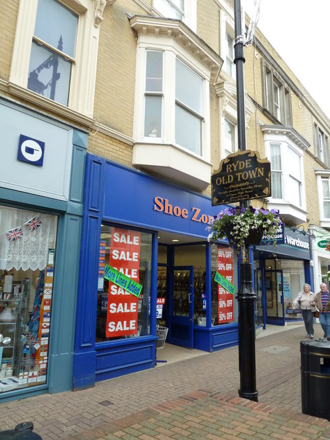 Ryde High Street- Shoe Zone