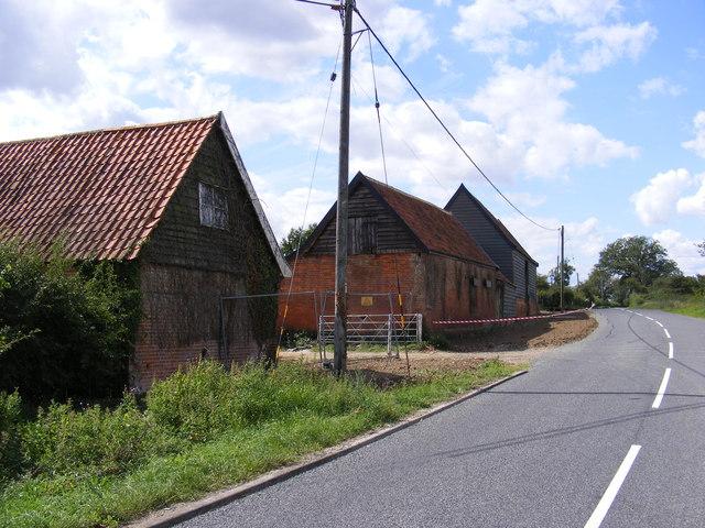 B1079 Helmingham Road & Elm Farm