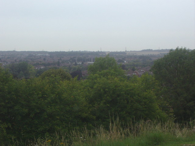 View from Stockingstone Road, Luton