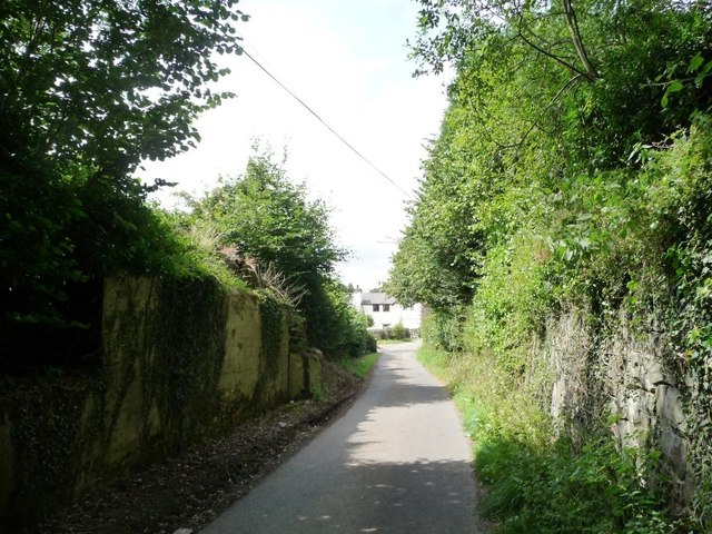 The abutments of Titterstone Incline