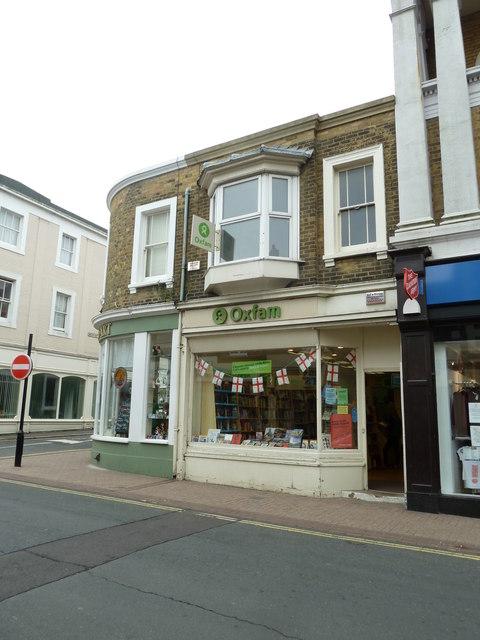 Ryde High Street- charity shop (d)