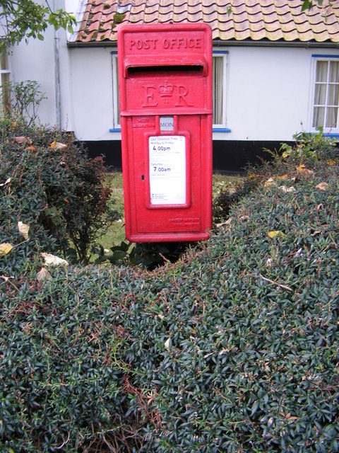 Mar-Fre Cottage Postbox