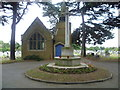 TQ1276 : Chapel and war memorial, New Brentford Cemetery by Ian Yarham