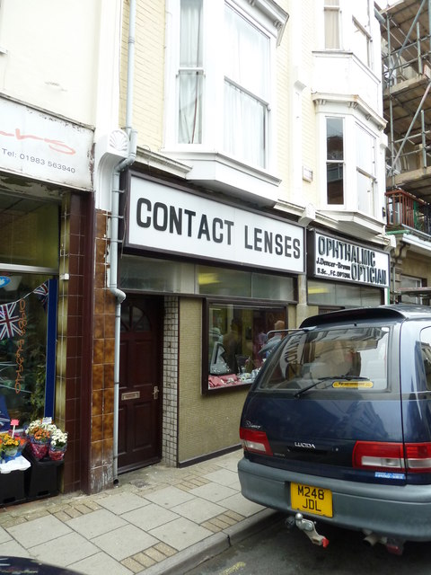 Opticians in the High Street