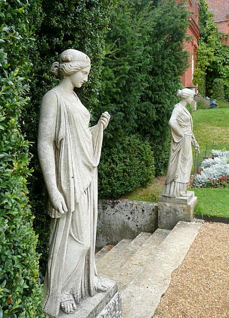 Hughenden Manor statues