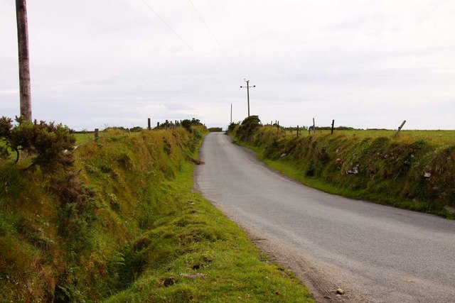 The road to St Neot