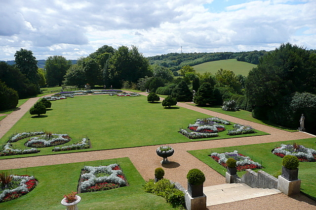Hughenden Manor gardens