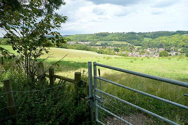View from the Hughenden estate