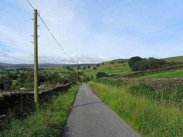 Lane in High Skyreholme