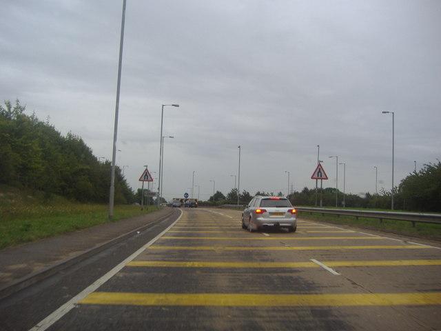The A6, Streatley