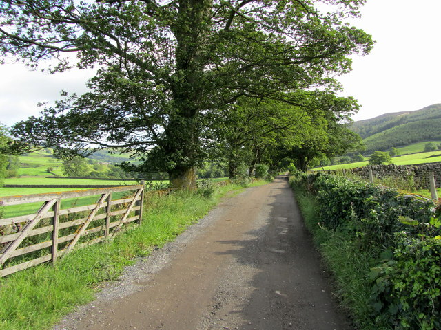 Access Lane to Howgill