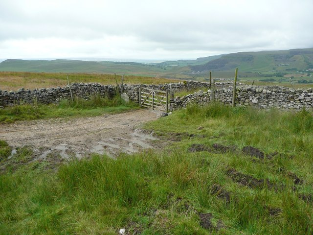 Gate on Moorhead Lane