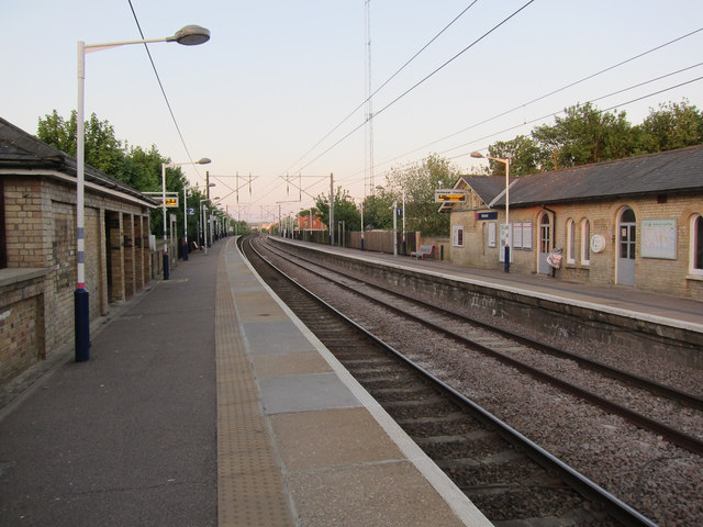 Baldock Station Hugh Venables Geograph Britain And