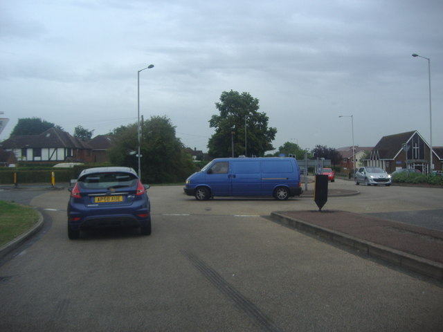 Roundabout on Barton Road and Grasmere Road