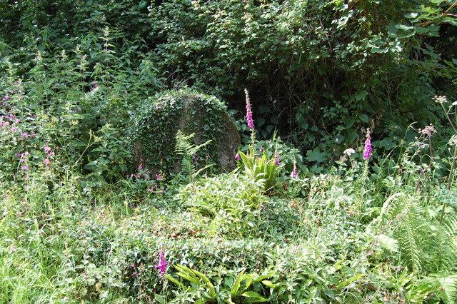 Millstones near Yew Tree cottage