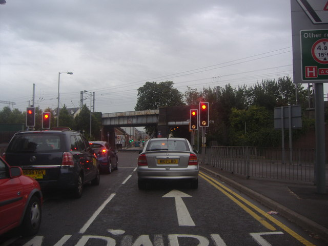 New Bedford Road by Luton station