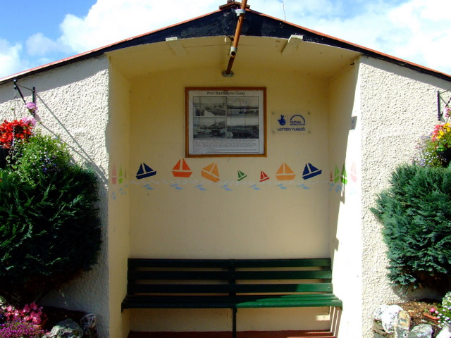 Shelter at Port Bannatyne Quay