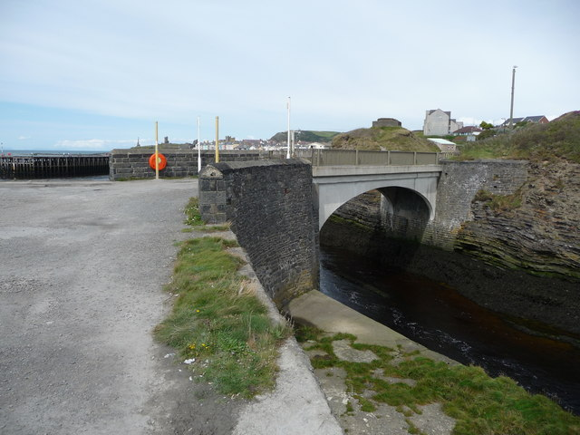 Bridge over the Afon Ystwyth at Trefechan