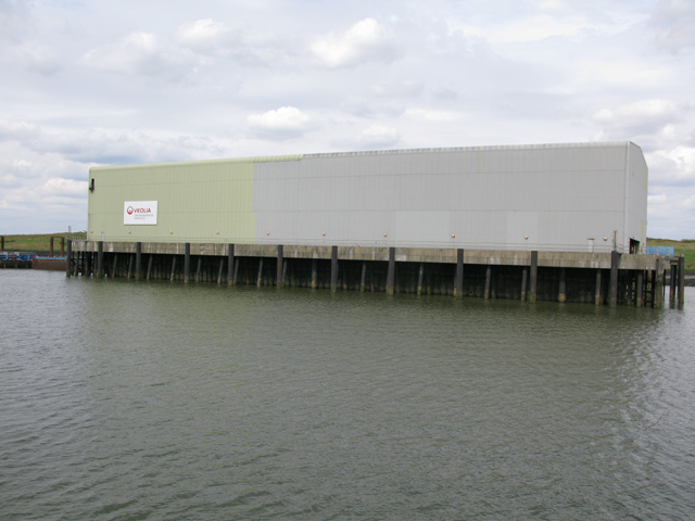 The Veiola 'Environmental services' waste disposal jetty