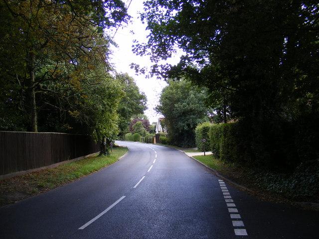 B1079 Helmingham Road