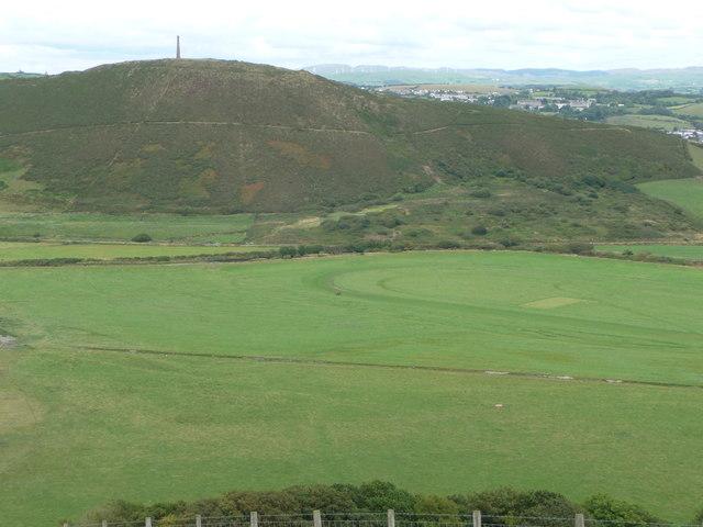 Trotting race practice below Allt Wen near Aberystwyth