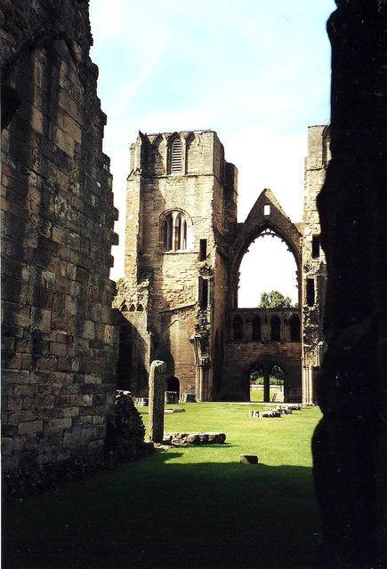 Elgin Cathedral ruins
