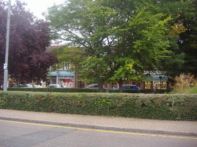 Shops along High Street, Harpenden