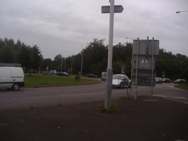 Kidney Wood roundabout, Slip End