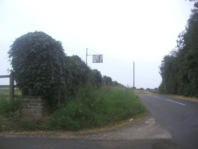 The entrance to Home Farm, Clophill