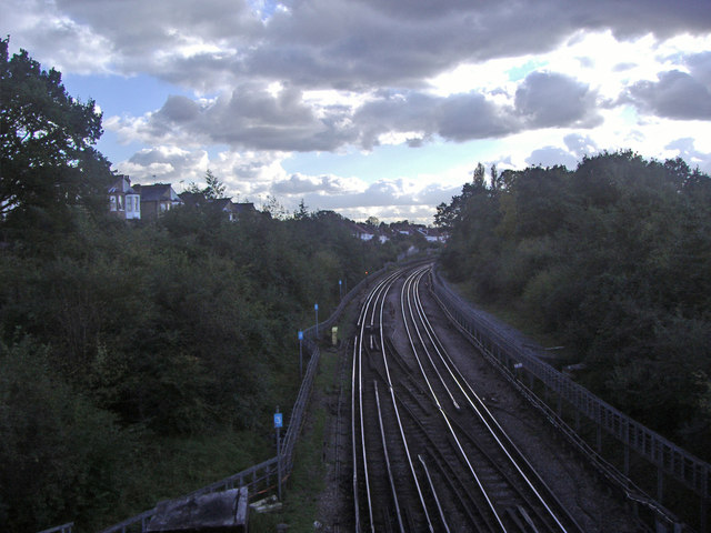 The Northern Line from Totteridge Lane
