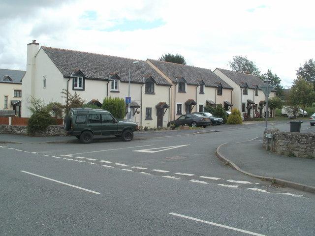 East side of Fosse Way,Bronllys