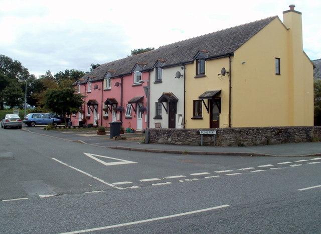West side of Fosse Way,Bronllys
