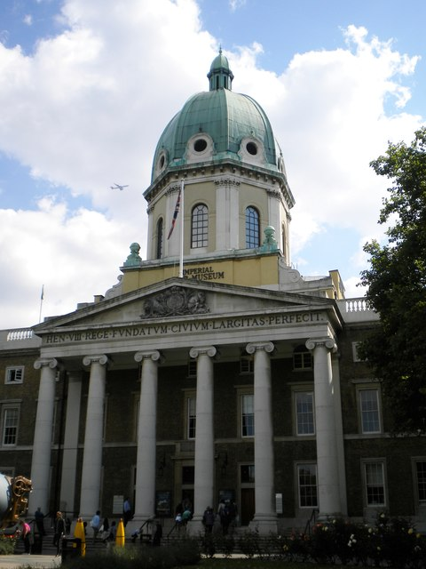 Entrance to Imperial War Museum, Lambeth Road SE1