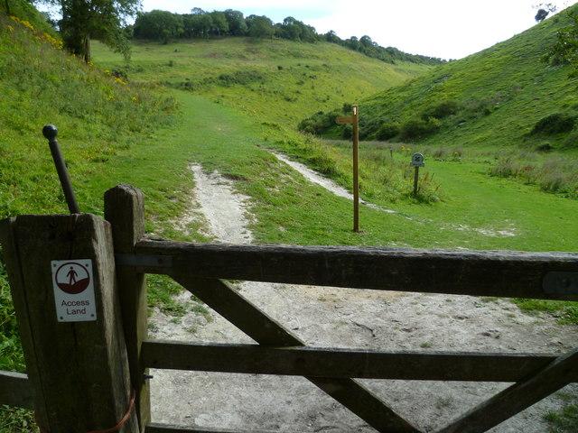Gateway to Access Land at Devil's Dyke